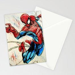 Web-Slinger Spider-Man Stationery Cards