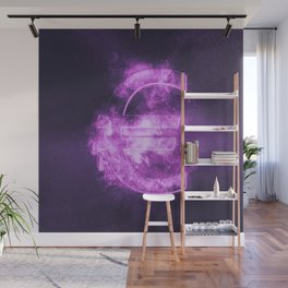 Euro sign, Euro Symbol. Monetary currency symbol. Abstract night sky background. Wall Mural