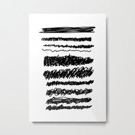 MURDER Metal Print