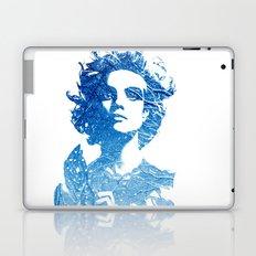 Snow: Natalia Vodianova Laptop & iPad Skin
