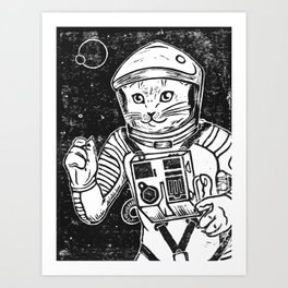 Out of the Cradle, Endlessly Orbiting Art Print