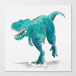 T-Rex Dinosaur Canvas Print