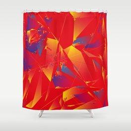 Deconstructing Kandinsky Shower Curtain