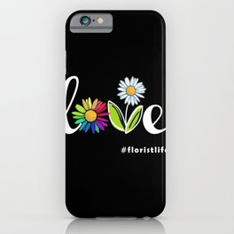 Flowers Love iPhone Case