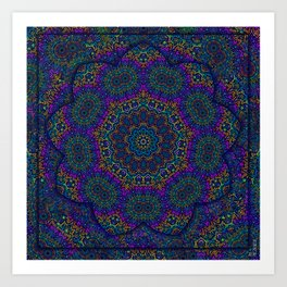 Mysterious Lace  Art Print