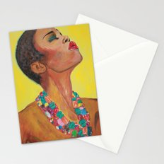 Sun Girl Stationery Cards