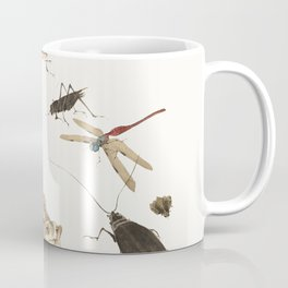 Insects, frogs and a snail Coffee Mug