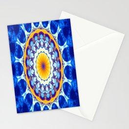 Fractal kaliedoscope/mandala M8 Stationery Cards