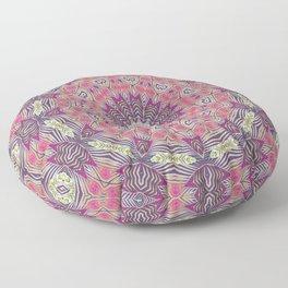 Gypsy Medallion Grape Floor Pillow