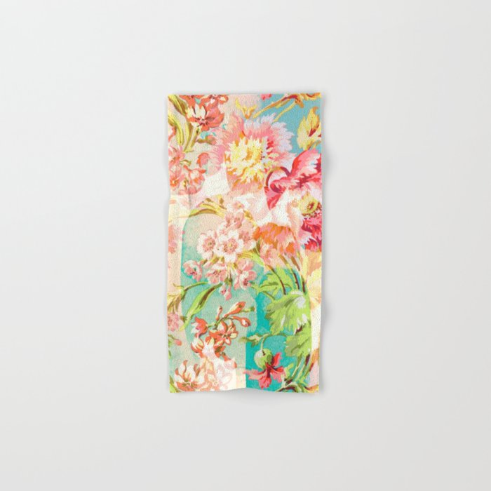hide and seek floral Hand & Bath Towel