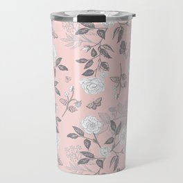 Bramble Roses - Rose Gold Travel Mug