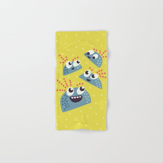 Happy Candy Friends Hand & Bath Towel