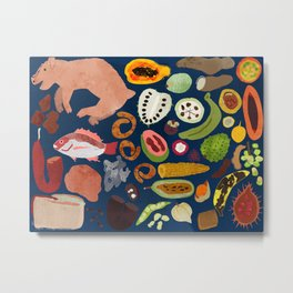 Colombian Food is Good Food Metal Print