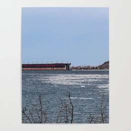 Ore Dock Across the Harbor Poster