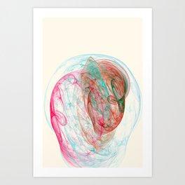 Bulb Nebula Art Print