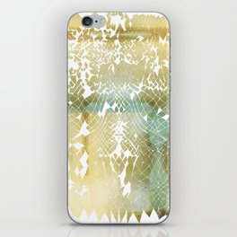 Fractured Gold iPhone Skin