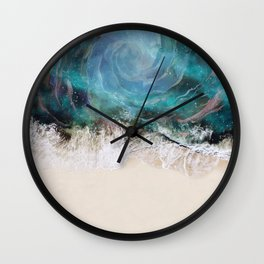 Sea Vortex Wall Clock