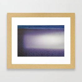 Monk by the sea II Framed Art Print