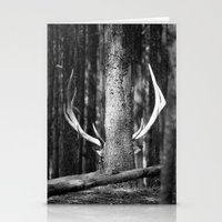 antler Stationery Cards featuring Antler Tree by J Witt Photography