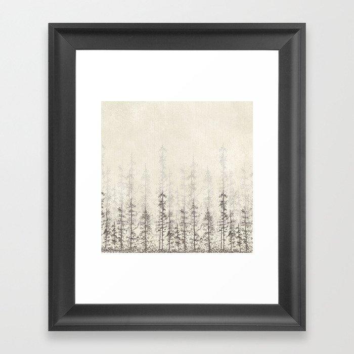 Forest Home Gerahmter Kunstdruck