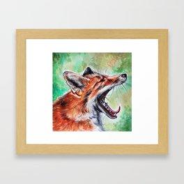 Yaaaawn Framed Art Print