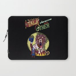 About love and circus - the lion and the tamer Laptop Sleeve