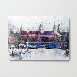 Cracow art 28 #cracow #krakow #city Metal Print