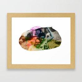 BLUR// Framed Art Print