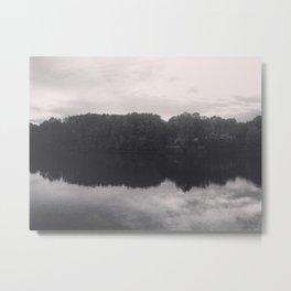 The river reflection Metal Print