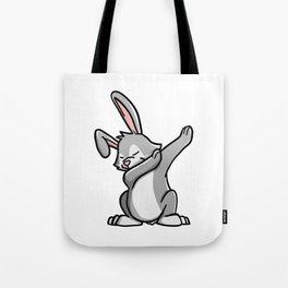 Funny Dabbing Rabbit Pet Dab Dance Tote Bag