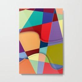 Abstract #303 Metal Print
