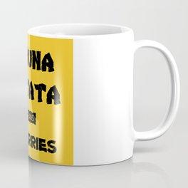 optimism design :Hakuna Matata it means no worries Coffee Mug