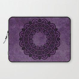 Circle in Purple Laptop Sleeve