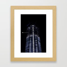 Manhattan Skyline Series 006 Framed Art Print
