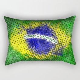 Brazil - Brazilian Flag Rectangular Pillow