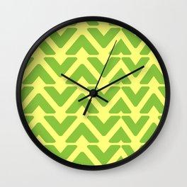 Grassy Waves Wall Clock