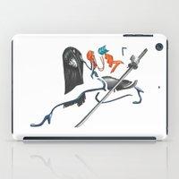 kill la kill iPad Cases featuring Kill La Kill Satsuki by Papan Seniman