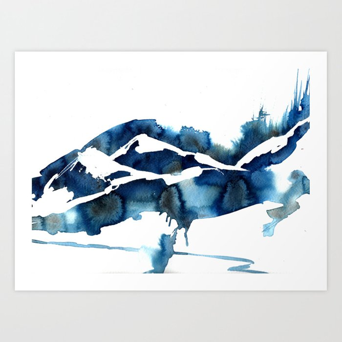 Idyllic Art Print