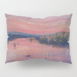 Racing the Sunset Pillow Sham