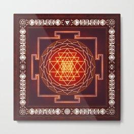 Sri Yantra XI.I Metal Print