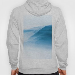 Snowy Blue Mountains (Color) Hoody