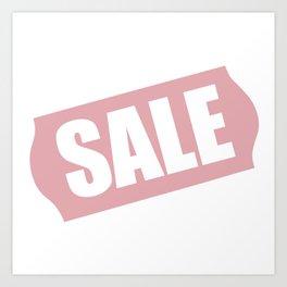 "Pop Art ""Sale"" Art Print"