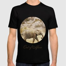 Out of Africa Black X-LARGE Mens Fitted Tee
