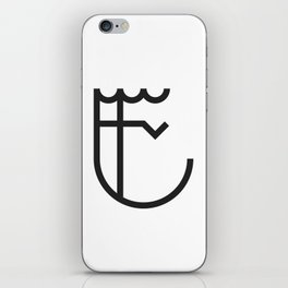 E is for... iPhone Skin