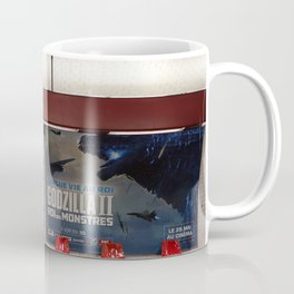 Godzilla Paris Metro 2 Coffee Mug