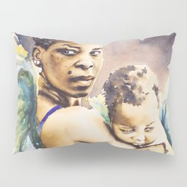 Mother Mary Pillow Sham