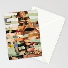 Glitch Pin-Up Redux: Randi Stationery Cards