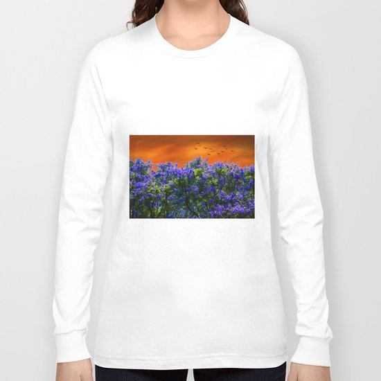 Purple forest Long Sleeve T-shirt