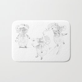 Country Mouse Bath Mat