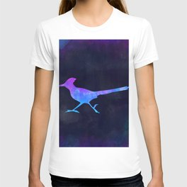 ROADRUNNER IN SPACE // Animal Graphic Art // Watercolor Canvas Painting // Modern Minimal Cute T-shirt
